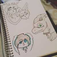 CC 7-10 :: A bundle of OCs by Etrenelle