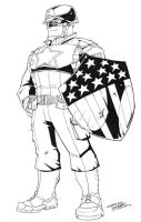 WWII Captain America cs by KidNotorious