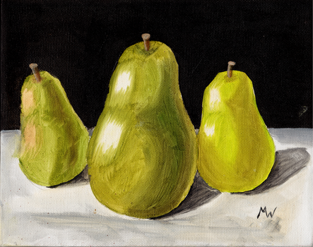 Pears Still Life by Sinome-Rae