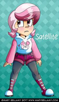 Faux Facts Chibi Satellite Clothes by MaryBellamy