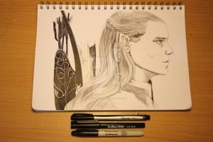 Legolas by Alicearisuu