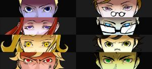 Persona Cores by geggidy