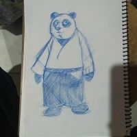 pandaikidoka by Ramonsters
