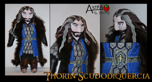 Thorin Oakenshield Plush by DemodexPlush