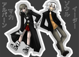:Soul and Maka: by ProSonic