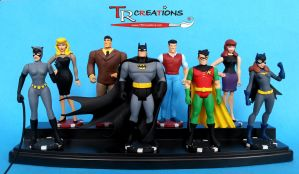 My Batman TAS Custom made figures by zelu1984