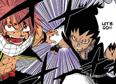 Fairy Tail Colored Panel by GoDoG420