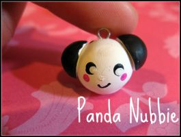 Panda Nubbie by cupcakecutiefriends