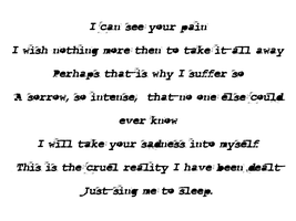 Sing Your Pain Away by Before-I-Sleep