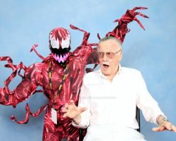 Carnage meets his ORIGINAL maker.... by BatmanBeyondfan2009