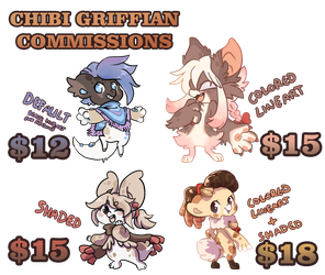[CLOSED] BB Griffian Chibi Commissions by QviCreations