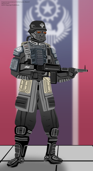 Coalition Urban Shocktrooper by Imperial-Ascendance