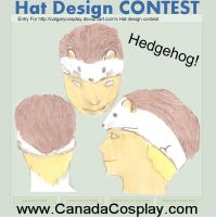 Hedgehog Hat Design by sniffybibble029