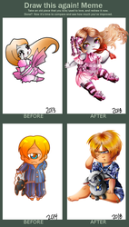 Before And After x2 by lostintheflowoftime