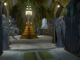 My 3D Temple Hall by TheSorceressRaven