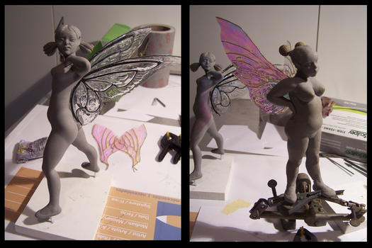 Unfinished Sculptures by cbgorby