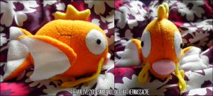 Magikarp Plush by SmileAndLead
