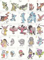 Linto Fakemon 1 by CrazyNutBob