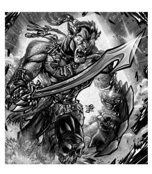 RPG Commission: Uber Orcs by WEXAL