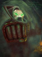 Give me your fist, bro! (Warhammer 40k) by PlumpOrange