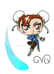 Chibi Chunli by QueenLionz
