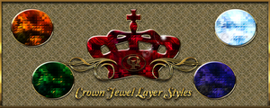 Crown Jewel Layer Styles by Spiral-0ut