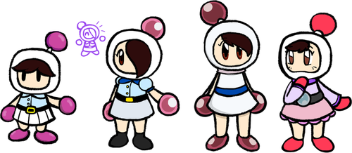 Bombersona in other bomber styles by Toadettegirl123306