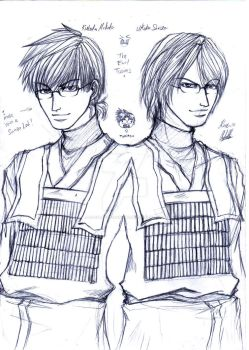 Teh Evil Twins by OjouLaFlorDeNieve
