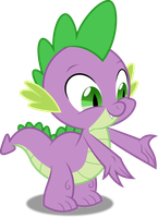 Vector #312 - Spike #12 by DashieSparkle