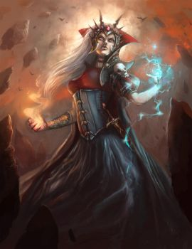 Christian Boe - Wicked Witch of the East by ChristianBoe