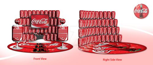 Coca-Cola Booth by moekyME