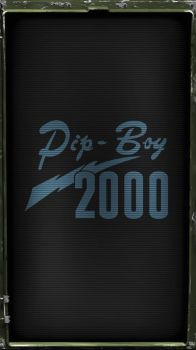 Pipboy 2000 DC Wasteland (Blue) by sitrirokoia