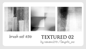 Texture brushes 02 by Sanami276