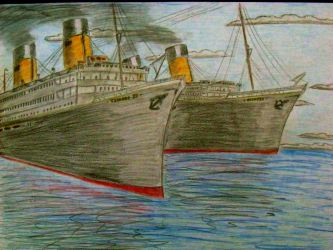 Sisters In a New Century- II by RMS-OLYMPIC