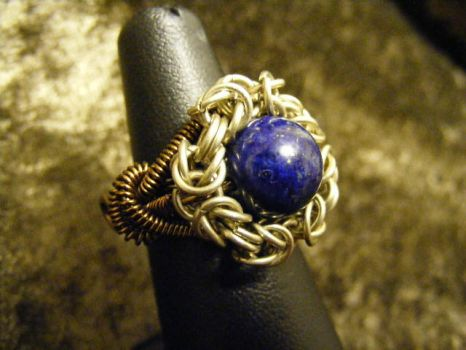 Bysantine Coil Ring by BacktoEarthCreations