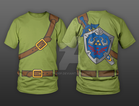 Hylian Shirt by blo0p
