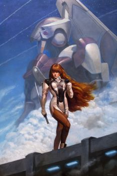 Xenogears - Elly by JakeMurray