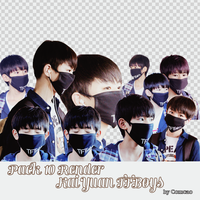 Pack Render #2 TFBoys by comcao by Comcao