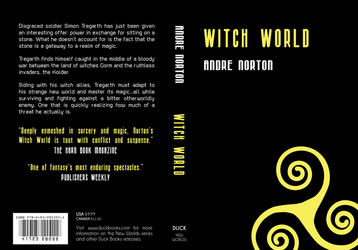 Book Cover - Witch World by banzaisebastian