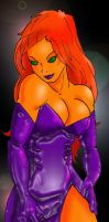 Starfire Party Girl by Inspector97