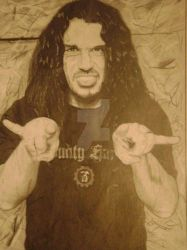 Tom Araya by KarnageJavi