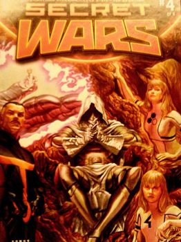 Secret Wars issue #4 Comic -SkooB 10/10/15 by SkoobyForever