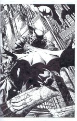 Batman 700 cover by INKIST