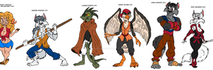 Phantom Project Cast - Concept of the Pack by GearGades