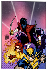 The Amazing X Men by Blackmoonrose13