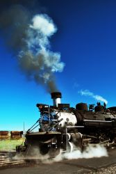 Cumbres and Toltec Rail Road by SublimeBudd