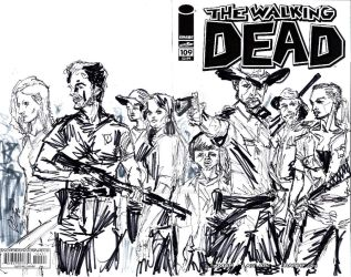 WALKING DEAD 109 rodrigues art by joselrodriguesart
