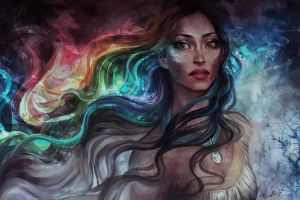 Colors of the Wind by jasric