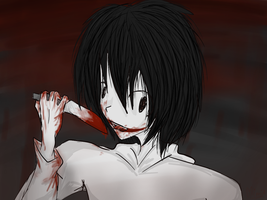 Jeff The Killer by SomeRandomDudeGirl