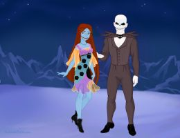 Nightmare Before Christmas by M-Mannering